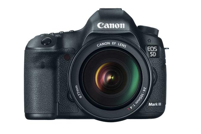 Canon 5D Mk3 front
